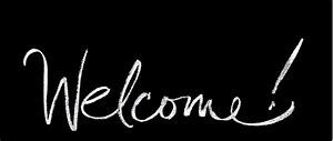 Welcome (cursief)