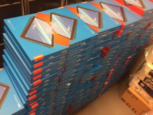 Lenovo tablets in dozen